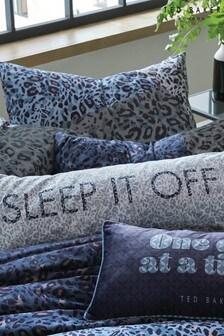 Ted Baker Blue Sleep It Off Cushion