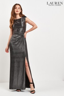 Lauren Ralph Lauren® Black Metallic Ilianne Dress