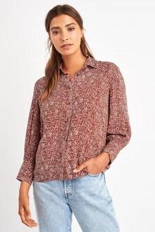 Blouson Sleeve Shirt