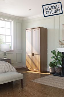 Elmsmore Small Hinged Wardrobe