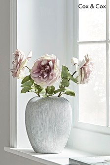 Cox & Cox Textured Tapered Vase