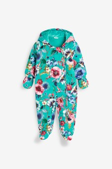 Floral Pramsuit (0mths-2yrs)