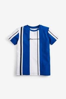 Short Sleeve Vertical Stripe T-Shirt (3-16yrs)