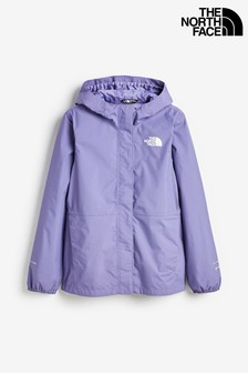 The North Face® Girls Resolve Purple Waterproof Jacket