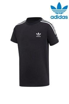 adidas Originals Black Icon Short Sleeve T-Shirt