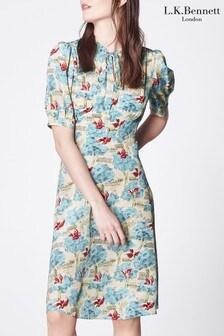 L.K.Bennett Marceau Silk Dress