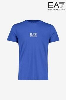 חולצת טי עם לוגו של Emporio Armani EA7