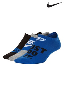 Nike Youth Everyday No Show Socks 3 Pack
