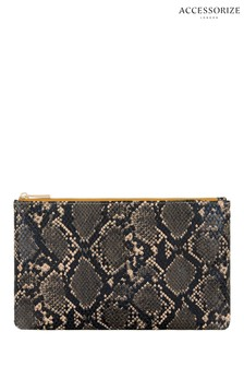 Accessorize Animal Snake Pouch