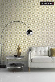 Arthouse Yellow Quartz Geo Wallpaper
