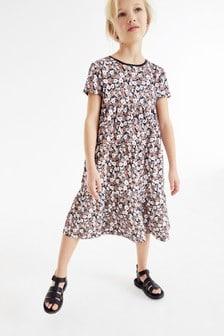 Jersey Tiered Dress (3-16yrs)