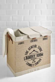 Hessian Laundry Sorter