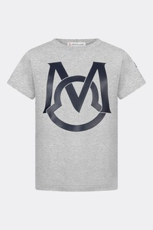 Moncler Enfant Cotton T-Shirt