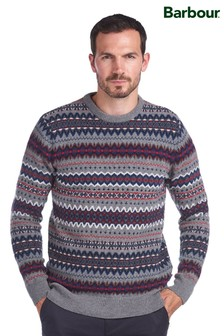 Barbour® Case Fairisle Crew Neck Jumper