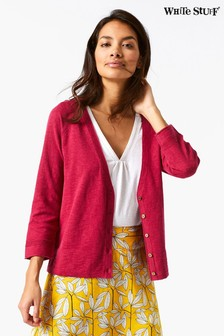 White Stuff Red Naria Cardi