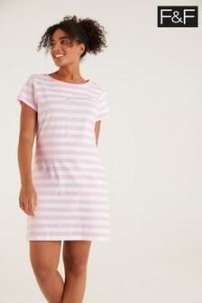 F&F Pink Sleep T-Shirt
