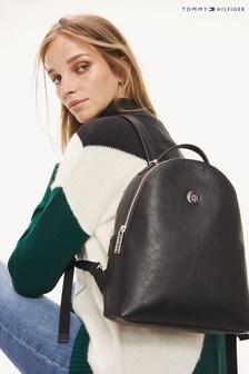 Tommy Hilfiger Black Core Mini Backpack