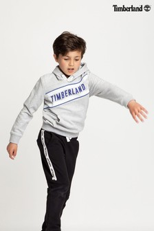 Timberland® Grey Logo Hoody