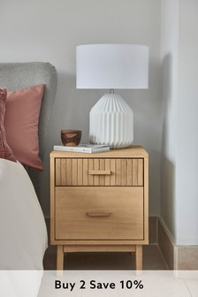 Conway 2 Drawer Bedside