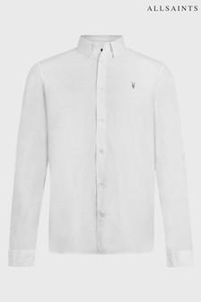 AllSaints White Speckle Balko Shirt
