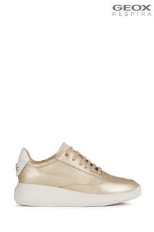 Geox Women's Rubidia Gold Shoes