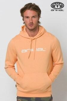 Animal Orange Driver Hoody