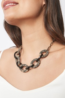 Wrap Link Chain Necklace