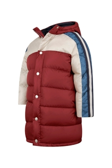Boys Red Padded GG Jacket
