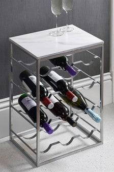 Marble Effect Wine Rack