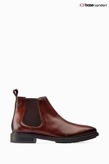 Base London® Brown Seymour Chelsea Boots