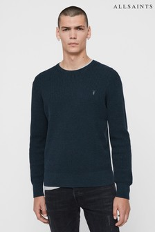 AllSaints Teal Wells Jumper