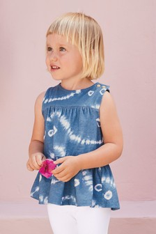 Tiered Peplum Vest Top (3mths-8yrs)