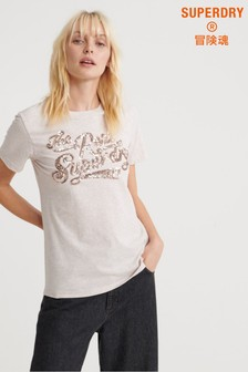Superdry The Real Sequin T-Shirt
