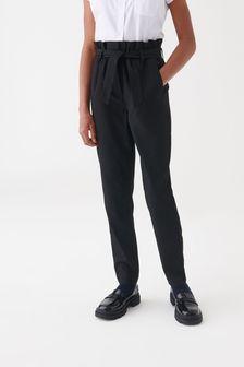 Senior Paperbag Waist Trousers (9-17yrs)