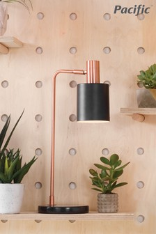 Biba Metal Task Table Lamp by Pacific Lifestyle