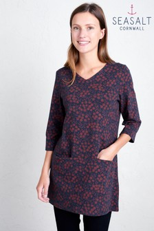 Seasalt Red Long Run Tunic