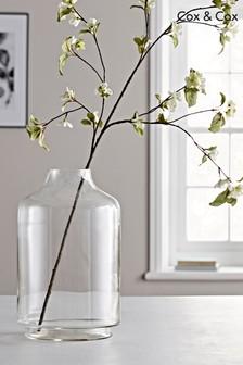 Cox & Cox Elegante Oversize-Vase aus Glas