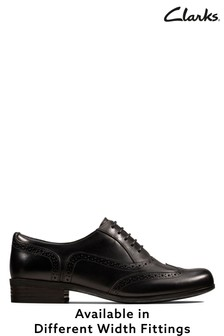 Clarks Black Hamble Oak Shoe