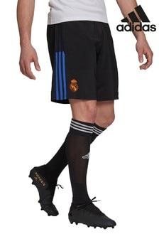adidas Black Real Madrid Training Shorts