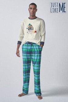 Bear Slogan Pyjamas