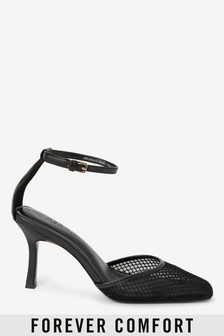 Mesh Two Part Heel Shoes