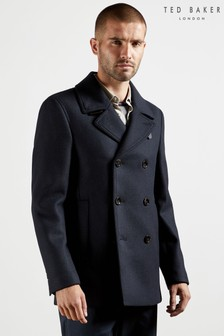 Ted Baker Summit Wool Peacoat
