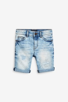 Distressed Shorts (3-16yrs)