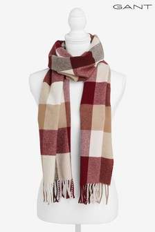 GANT Womens Multi Check Scarf
