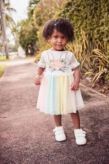 Bunny Face Party Dress (3mths-7yrs)