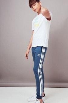 adidas Originals Navy 3 Stripe Joggers
