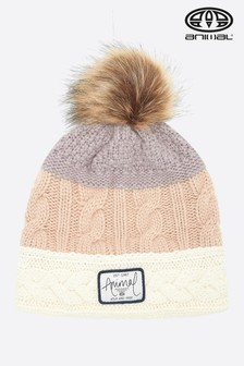 Animal Rose Dust Pink Celise Knitted Beanie