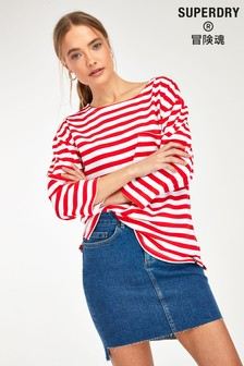 Superdry Red Cruise Top
