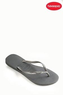 Havaianas® Slim Crystal Glamour Flip Flops
