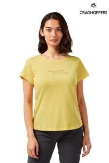 Craghoppers Yellow Miri T-Shirt